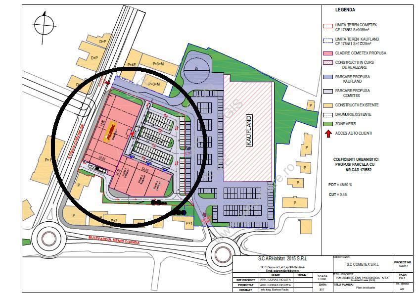 """""""Parcul Comercial Altex"""" a primit aviz favorabil din partea Primariei Satu Mare"""