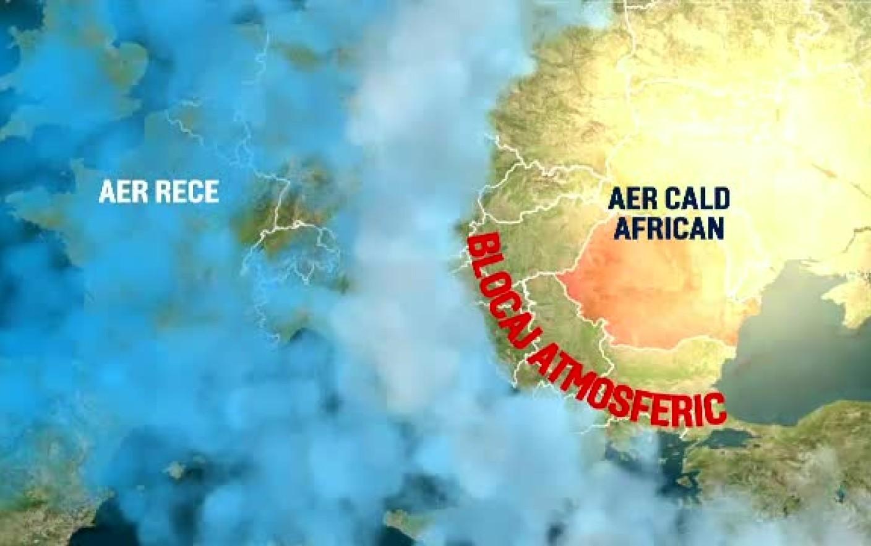 """România, prinsă într-un blocaj atmosferic nemaivăzut de 72 de ani. """"Vara nu arată bine"""""""