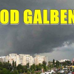 Un nou weekend cu cod galben de ploi la Satu Mare