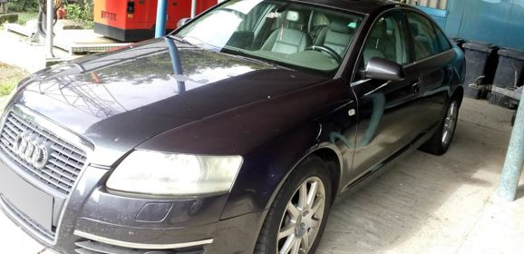 Mașină căutată de autoritățile din Spania, descoperită la PTF Urziceni