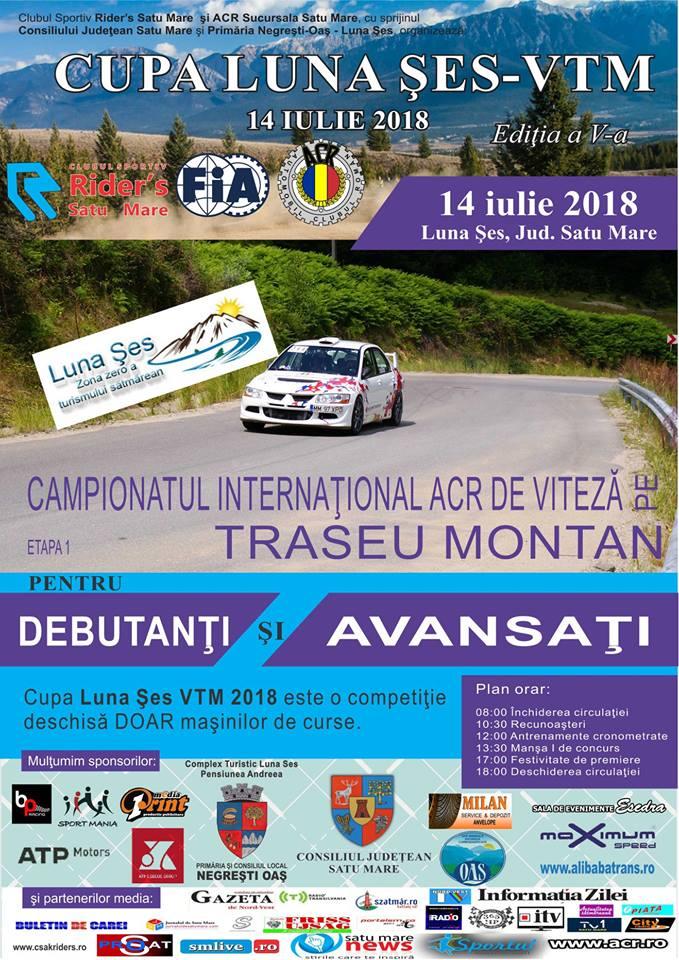 Campionatul internaţional ''CUPA LUNA ŞES – VITEZĂ PE TRASEU MONTAN'', la a V-a ediție