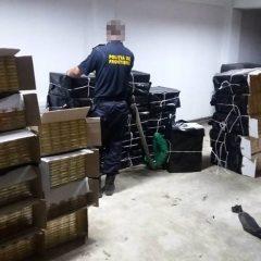 21.000 de pachete cu tigari, confiscate la nivelul Sectorului Politiei de Frontiera Negresti Oas