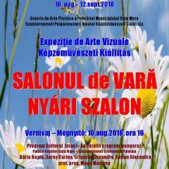 """Expozitia """"Salonul de Vara"""" la Primaria Satu Mare"""