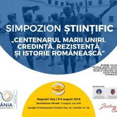 """Simpozionul """"Centenarul Marii Uniri, Credință, Rezistență și Istorie Românească"""" la Negrești-Oaș"""