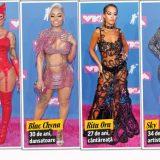 FOTO În pielea goală, la Gala MTV