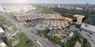 Shopping City Satu Mare prinde contur. Vor fi peste 1000 de locuri de parcare pe 2 niveluri si rampa cu acces rapid