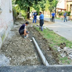 Stadiul lucrarilor de modernizare a strazilor si trotuarelor din municipiul Satu Mare
