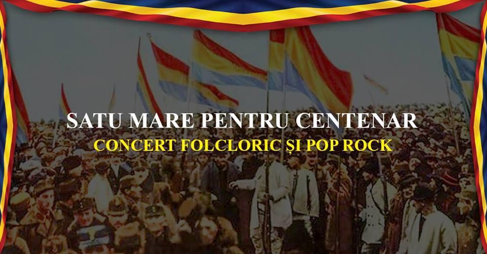 """Evenimente festive desfasurate sub genericul """"Satu Mare pentru Centenar"""""""