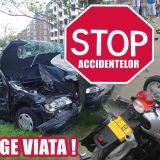 Mesajul zilei din partea Poliției Satu Mare este despre victimele accidentelor rutiere