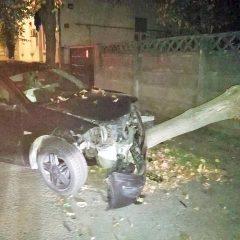 FOTO Urmărire ca în filme noaptea trecută la Satu Mare între un șofer băut și polițiștii locali
