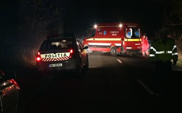Un bărbat a fost rănit în urma unui accident rutier petrecut în municipiul Satu Mare