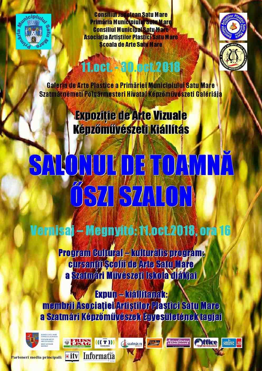 Eveniment cultural la Primaria Satu Mare, Festivalul de Toamna