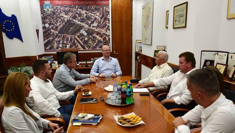 Satu Mare și Nyíregyháza vor implementa  proiecte transforntaliere comune
