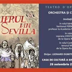 "Opera ""Barbierul din Sevilla"" in Satu Mare"