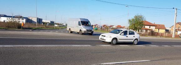 Un nou sens giratoriu se configurează în municipiul Satu Mare