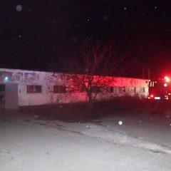 Incendiu la un atelier de tâmplărie în municipiul Satu Mare