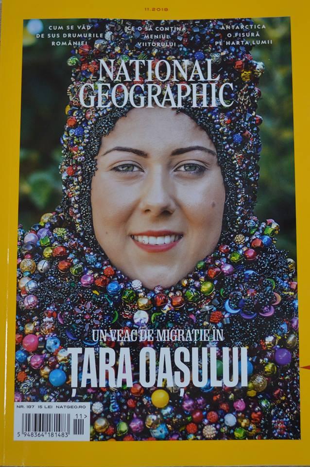 """Pentru prima dată în istorie, Remus Țiplea a pus Țara Oașului pe coperta revistei """"National Geographic"""""""