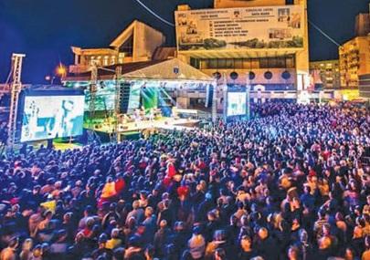 Artificii, show laser si formatii de top la Satu Mare de 1 decembrie. Vedeti cine va  concerta
