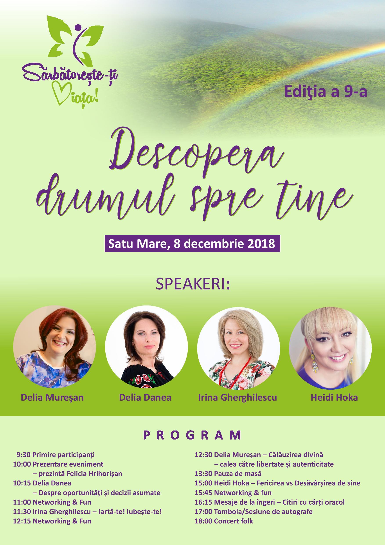 Asociația Schimbare Pozitivă din Cluj-Napoca vă invită la evenimentul  SĂRBĂTOREȘTE-ȚI VIAȚA!