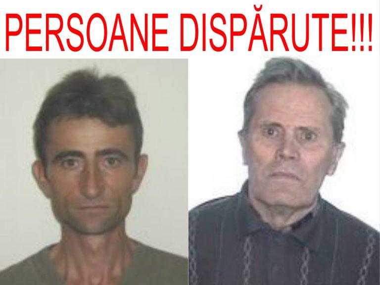 Doi bărbați sunt căutați de polițiștii sătmăreni după ce au dispărut de la domiciliile lor