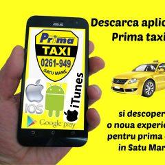 Prima Taxi Satu Mare a lansat aplicația pentru iOS pentru utilizatorii de Iphone