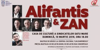 Concert extraordinar susținut de Nicu Alifantis & Zan