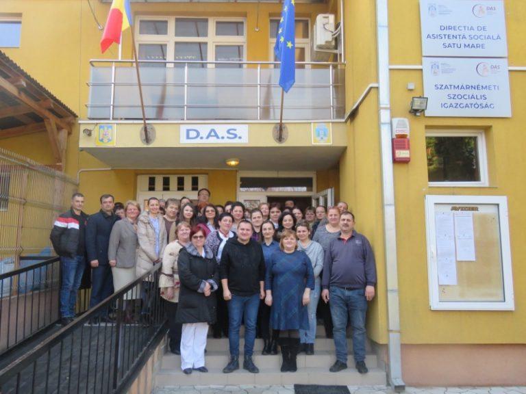 Direcția de Asistență Socială Satu Mare reduce programul cu publicul