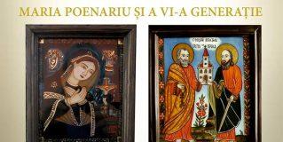 Expoziție de icoane pe sticlă specifice Lazului