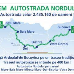 Satu Mare va avea autostradă. Vedeți in câți ani se va  construi Autostrada Nordului Satu Mare – Baia Mare – Suceava!
