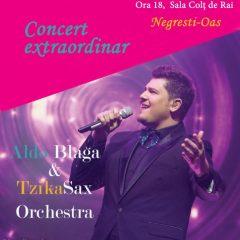 Concert extraordinar cu Aldo Blaga și TzikaSax Orchestra de Ziua Femeii la Negrești-Oaș