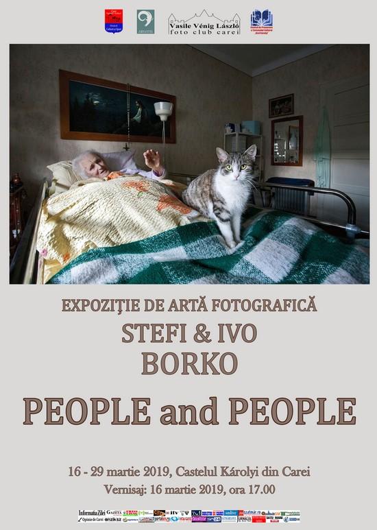 """Vernisajul expoziției de fotografie """"People and People""""(Oameni și Oameni) la Carei"""
