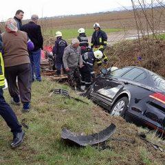 Accident rutier cu 3 victime în județul Satu Mare