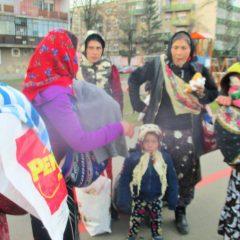 """8 cerșetori """"autohtoni"""" amendați și trimiși acasă de către Poliția Locală Satu Mare"""