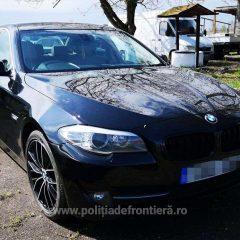 Un sătmărean a încercat să introducă în ţară un BMW căutat in UK. Vedeţi până unde a reuşit să ajungă