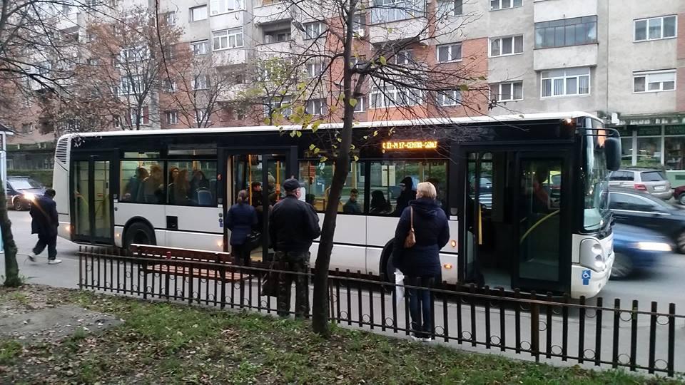 O parte din autobuzele Transurban își reiau traseul pe B-dul Octavian Goga