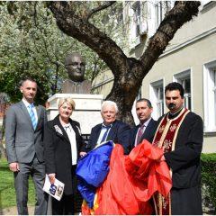 Festivitatea de dezvelire a bustului cărturarului Gheorghe Bulgăr