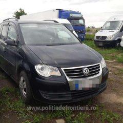Volkswagen căutat de autoritățile din Cehia, oprit la vama Petea