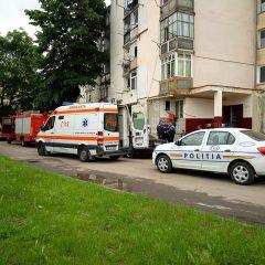 Pompierii sătmăreni au fost solicitați pe strada Ostrovului. O intervenție cu final fericit