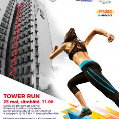 Tower Run/ Crosul Palatului, o competiție sportivă unică în țară