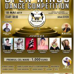 Open Wings Studio vă invită la cel mai mare concurs de dans din Ardeal