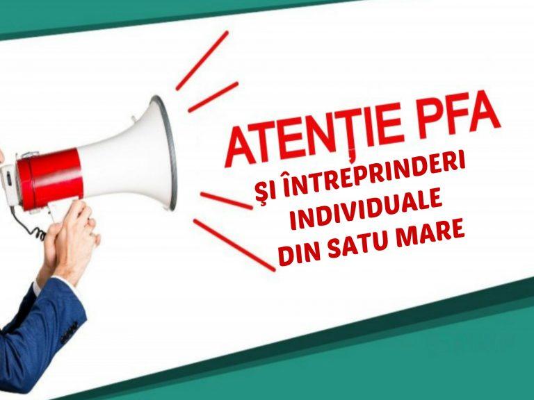 Probleme pentru sătmăreni. 344 PFA şi 111 Întreprinderi individuale din Satu Mare radiate de autorităţi
