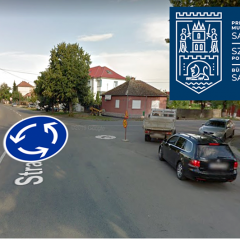 Un nou sens giratoriu în municipiul Satu Mare