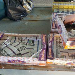 O femeie de 62 de ani a fost surprinsă în flagrant, în timp ce comercializa țigări de proveniență ucraineană