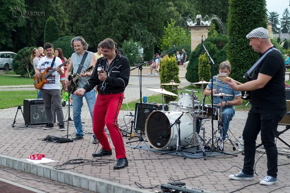 Summer Sound Sessions a debutat la Carei cu un concert exploziv Rollscream din Satu Mare