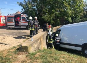 Accident, în urmă cu câteva minute, pe drumul Careiului din Satu Mare