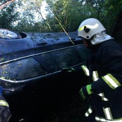 Accident rutier produs la ieșirea din Livada