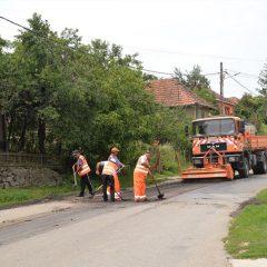 Stadiul lucrărilor de întreţinere curentă şi periodică pe drumurile din județul Satu Mare
