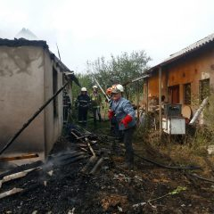 Incendii de miriști și vegetație uscată. Pompierii atenţionează sătmarenii