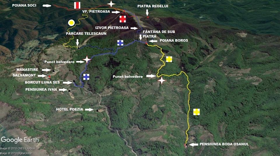 Urmează să fie omologate încă trei trasee turistice în Munții Oaș
