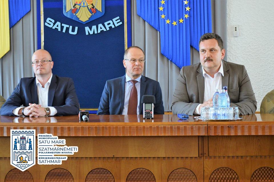 Comisarul european Tibor Navracsics, în vizită la Satu Mare